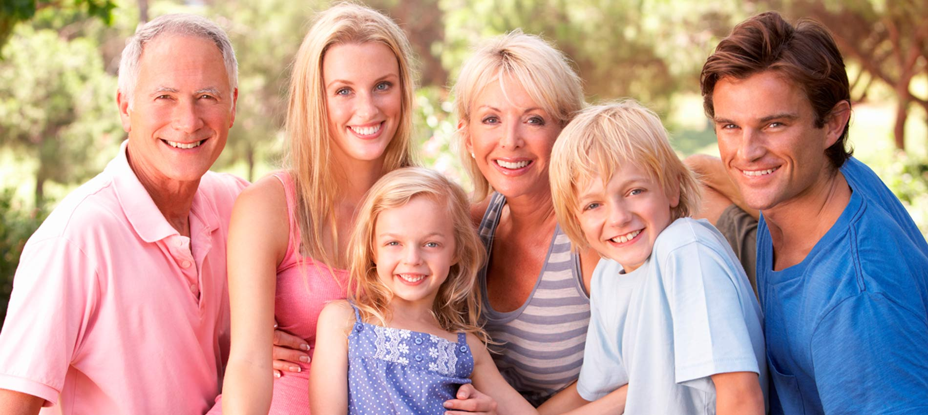We love seeing patients of all ages! We offer treatments ranging from pediatric dentistry to replacing missing teeth, from sports guards to regular maintenance for the whole family